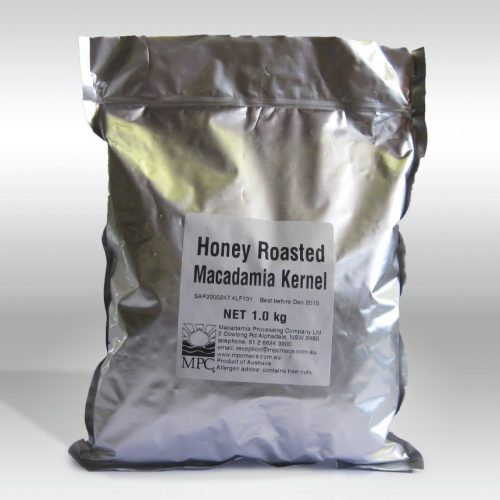 Honey Roasted Macadamia Kernel (1kg)