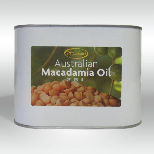 McCadams Australian Raw Pressed Macadamia Oil (2.5L)