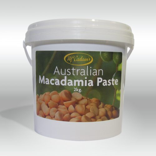 Dry Roasted Macadamia Paste